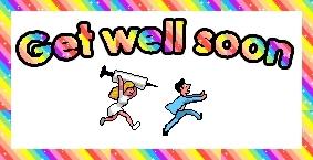 feel better, feel better soon, get well, get well soon,  GIFs