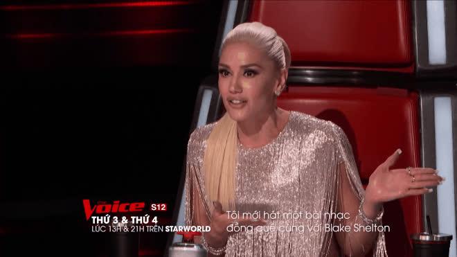 The Voice US: Liên tục gọi tên Blake, Gwen nhận cái kết phũ phàng thế này!