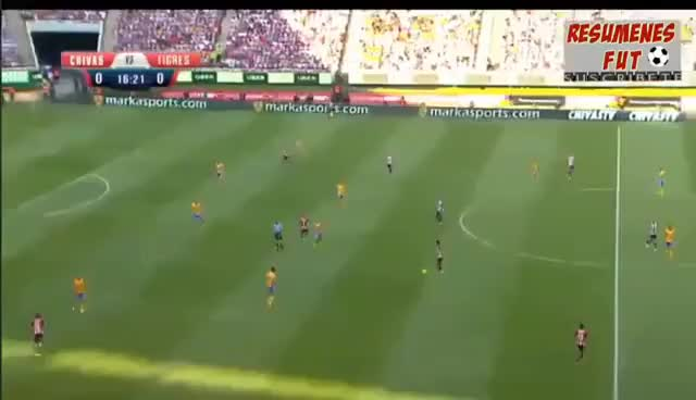 Watch and share Gol Alan Pulido - Chivas Vs Tigres 1-0 2017 Final GIFs on Gfycat