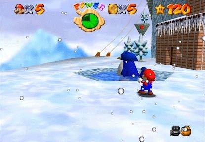 gaminggifs, Super Mario 64 - Sowwy GIFs