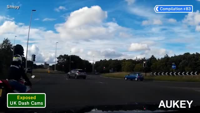 Watch and share Exposed: UK Dash Cams - Poor Drivers, Road Rage + Crash Compilation #83 GIFs on Gfycat