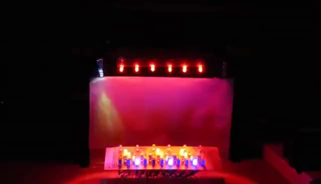 """Watch Arduino Light Show 5.2 - """"Radioactive"""" GIF on Gfycat. Discover more related GIFs on Gfycat"""