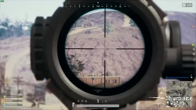 I knocked SOLIDFPS from 700 meters away after taking a shot just for the hell of it