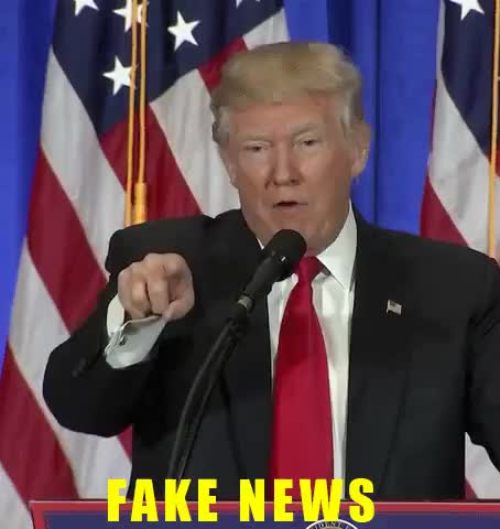 Watch and share Fake News GIFs and Trump GIFs on Gfycat