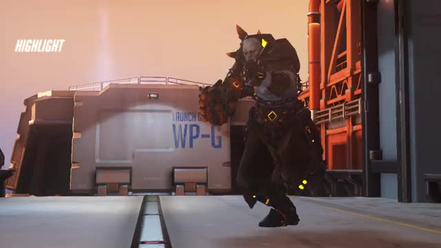 Watch and share Junkrat U Lil Shit GIFs and Overwatch GIFs by moffit on Gfycat
