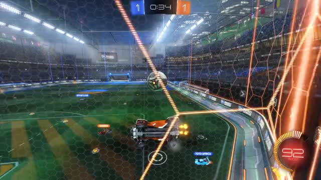 Watch Goal 3: Toto Africa GIF by Gif Your Game (@gifyourgame) on Gfycat. Discover more Gif Your Game, GifYourGame, Goal, Rocket League, RocketLeague, c. GIFs on Gfycat