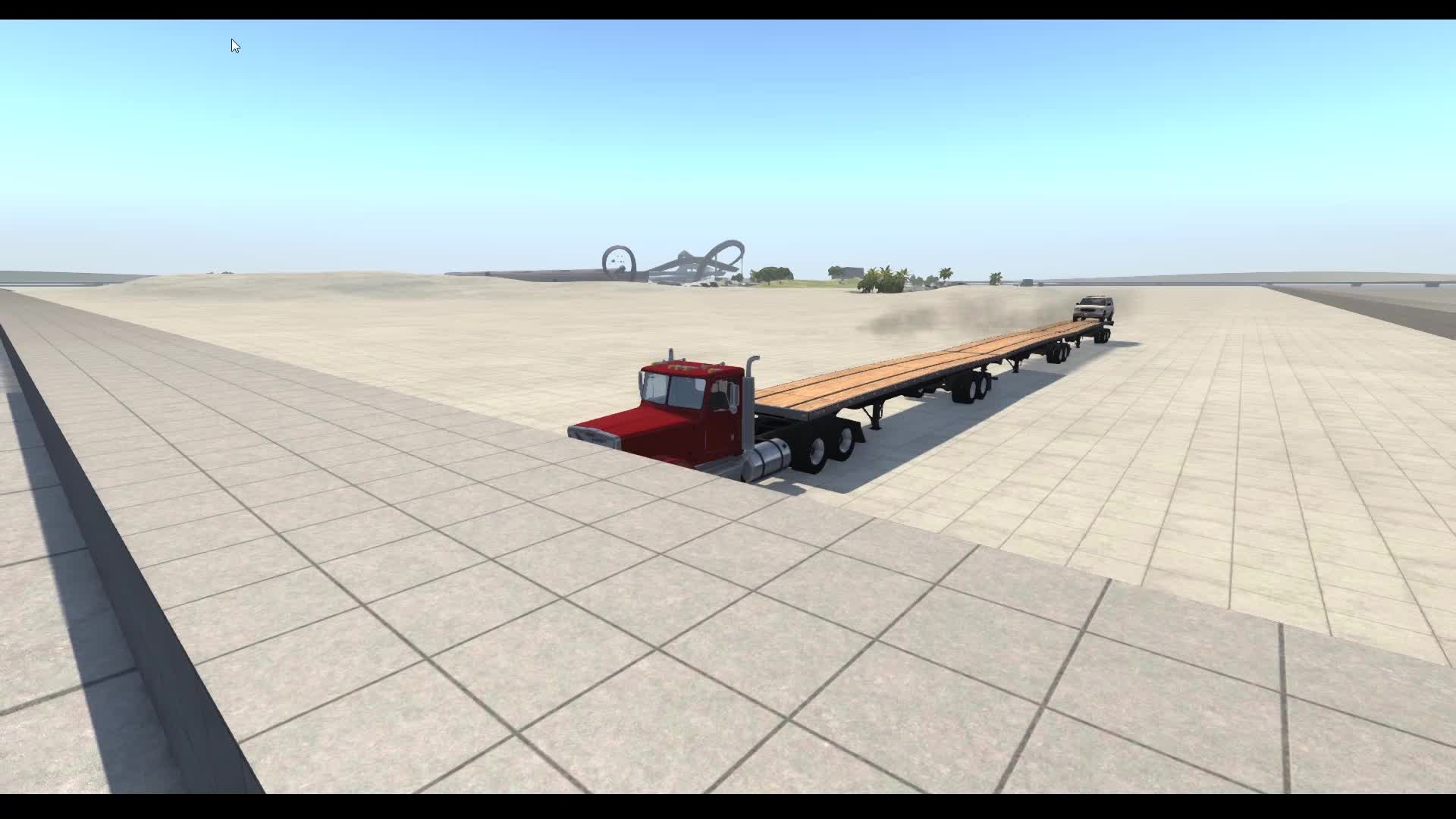 BeamNG, fun with the new connect node feature GIFs