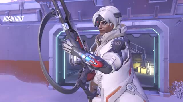 """Watch She said """"Bedtime for Bitch"""" after the sleep btw. Just wanted to point that out. GIF by @sayfuzzypickles on Gfycat. Discover more Ana, Overwatch, Pharah, Sleep GIFs on Gfycat"""
