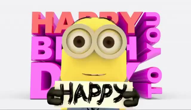 Watch and share Minions Happy Birthday Song GIFs on Gfycat
