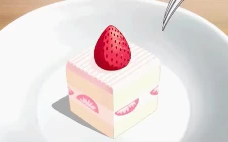 Watch this cake GIF by GIF Queen (@ioanna) on Gfycat. Discover more anime, cake, day, dessert, eating, feed me, food, hangry, hungry, lunch, meal, national, strawberry, sweet, yum GIFs on Gfycat