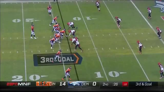 Watch and share Bengals Play 12 GIFs by dsmith96 on Gfycat
