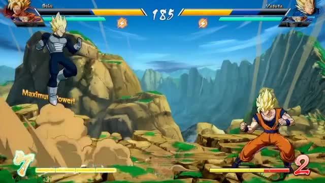 Watch and share Dragon Ball FighterZ Gameplay Meta Abe Vs Hellpockets FT-3 GIFs on Gfycat