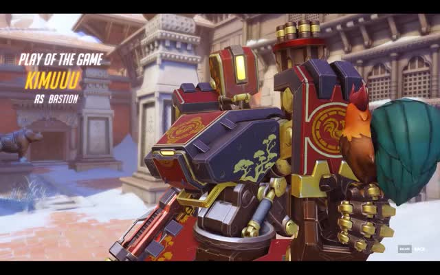 Watch Excuse me, I'm repairing GIF by @kimuuu on Gfycat. Discover more bastion, overwatch, potg GIFs on Gfycat