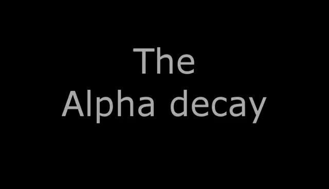 Watch Alpha decay - 3D animation GIF on Gfycat. Discover more 0423, alpha0001 GIFs on Gfycat