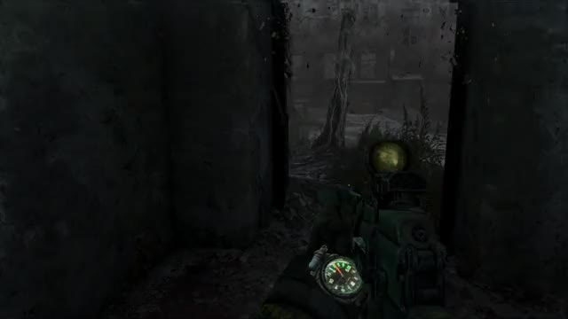 Metro Last Light] [Gif] Just love the atmosphere in this game