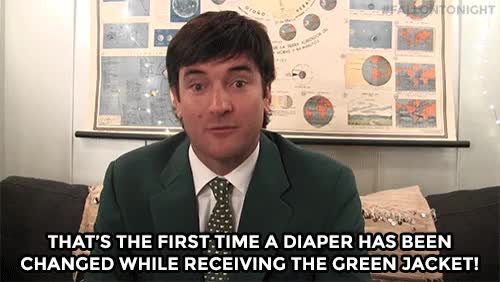 Watch and share WEB EXCLUSIVE: Bubba Watson Hung Out Backstage To Tell Us About The Time His Son Went To The Bathroom On The Masters' Ceremonial Green! GIFs on Gfycat