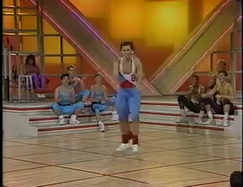 Watch and share Aerobics Kickers GIFs on Gfycat