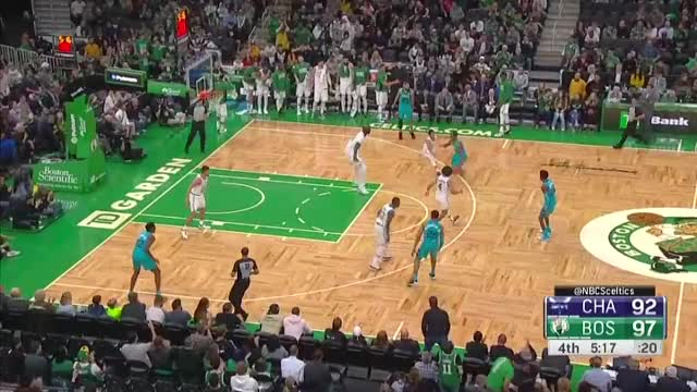 Watch and share Charlotte Hornets GIFs and Boston Celtics GIFs by kblaze8855 on Gfycat