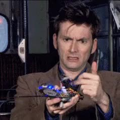 Watch and share Tenth Doctor GIFs and Machines GIFs on Gfycat
