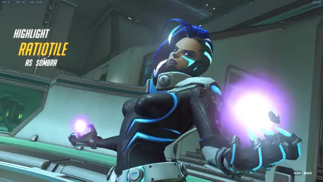 Watch Sombra highlight GIF on Gfycat. Discover more SombraMains GIFs on Gfycat