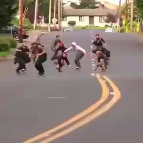 PUBATTLEGROUNDS, Skating, failing, falling, pubg, white people, Skittles GIFs