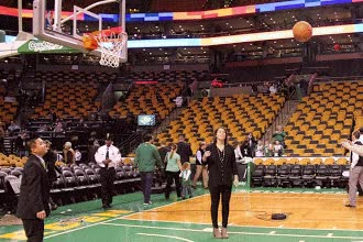 Watch and share TD Bank And SOCT Trip To The Boston Celtics GameFeb 2, 2014 €˘ Public GIFs on Gfycat