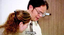 Watch and share Dwight Schrute GIFs and Pam Beesly GIFs on Gfycat