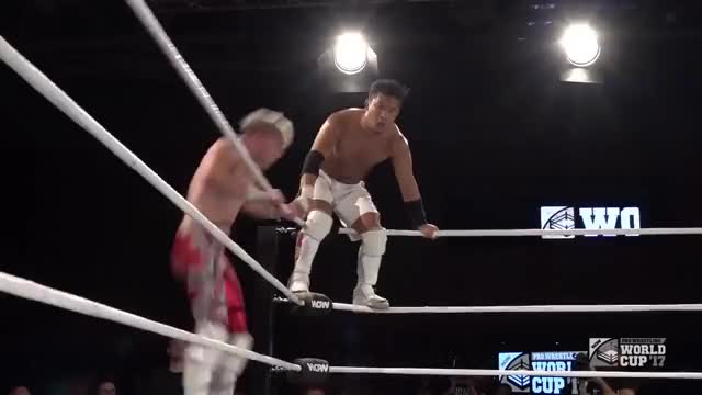 Will Ospreay Avalanche OsCutter