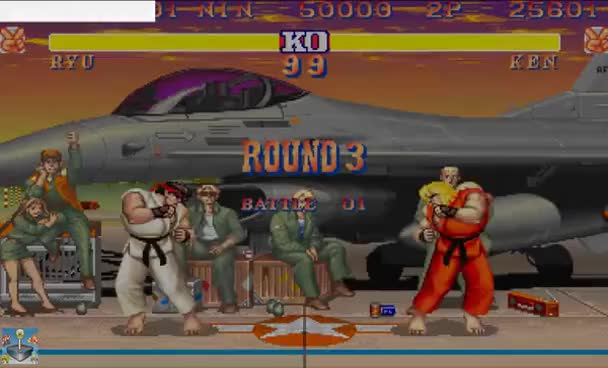 Watch and share Street Fighter II Champion Edition Online No Kaillera - Ryu Vs Ken GIFs on Gfycat