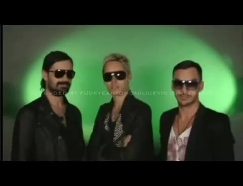 Watch 30 Seconds To Mars - wywiad GIF on Gfycat. Discover more 30 GIFs on Gfycat