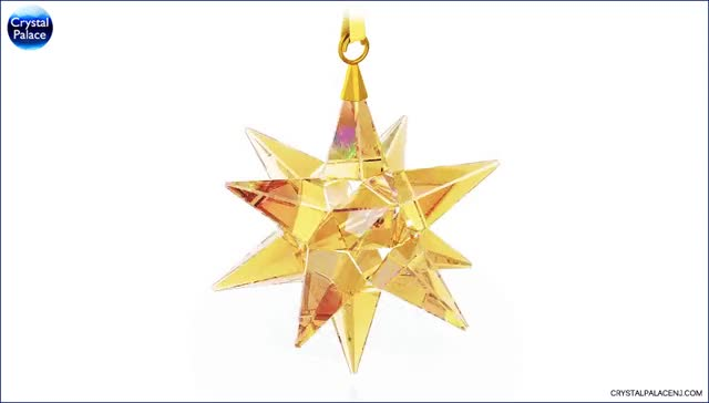 Watch Swarovski Star Ornament, Golden Shadow GIF on Gfycat. Discover more related GIFs on Gfycat