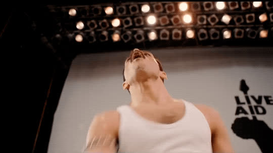 Rami Malek, awesome, bohemian rhapsody, freddie mercury, queen, yes, Bohemian Rhapsody Movie GIFs