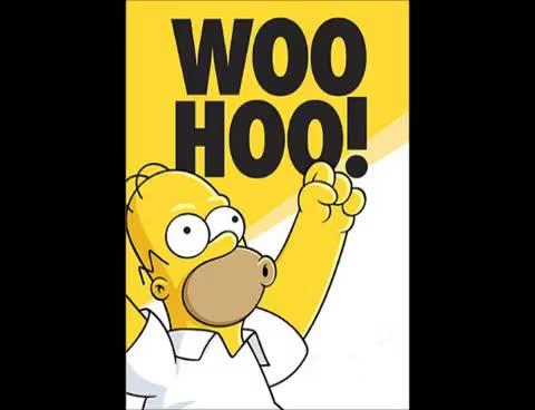 Watch and share Homer Simpson Woohoo Sound FX GIFs on Gfycat