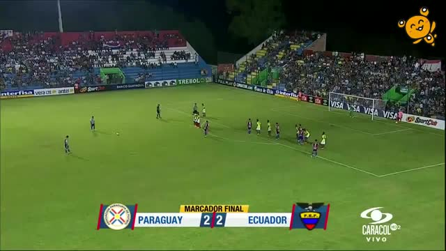 Watch Paraguay 2-2 Ecuador GIF by @mchto on Gfycat. Discover more related GIFs on Gfycat