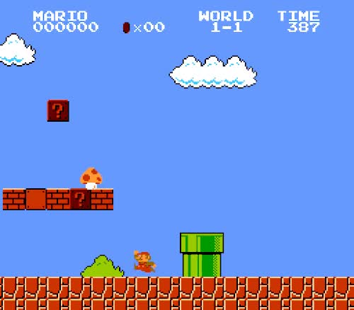 Watch and share In Super Mario Bros., GIFs on Gfycat