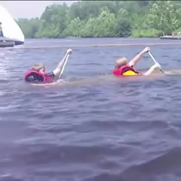 Watch and share Kids Sinking In Canoe   ORIGINAL GIFs on Gfycat