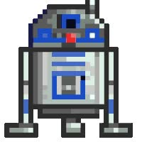 Watch and share R2D2 Tappy Foot animated stickers on Gfycat
