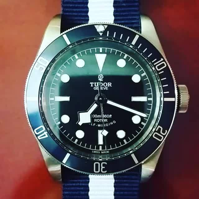 Watches, watches, Tudor Heritage Black Bay Timelapse GIFs