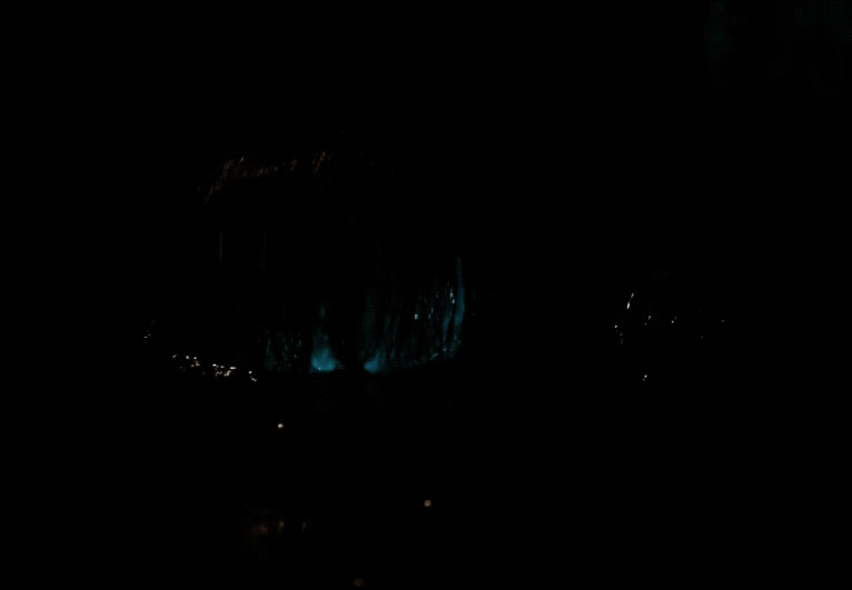 Bill Skarsgård, IT, Stephen King, clown, creepy, hi, horror, reveal, IT Emerging from Water GIFs
