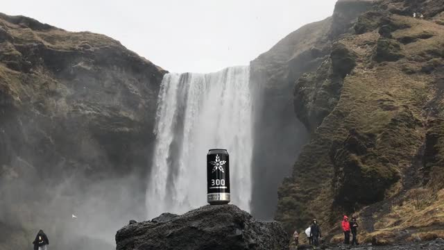 Watch Fulton 300 at Skógafoss, Iceland GIF by @craftbeertime on Gfycat. Discover more beerporn GIFs on Gfycat