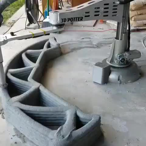 Watch and share Concrete Printer GIFs by Boojibs on Gfycat