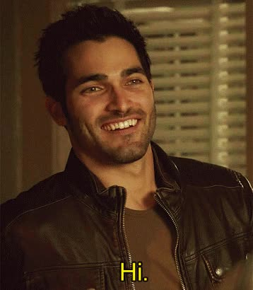 Watch and share Derek Hale, Gif, Smile, Teen Wolf, Tyler Hoechlin GIFs on Gfycat