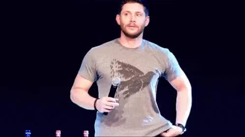 Watch and share Jensen GIFs on Gfycat