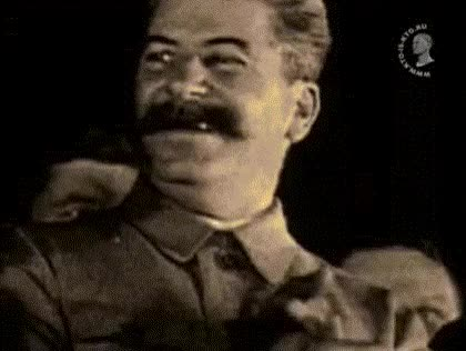 Watch and share Stalin GIFs on Gfycat