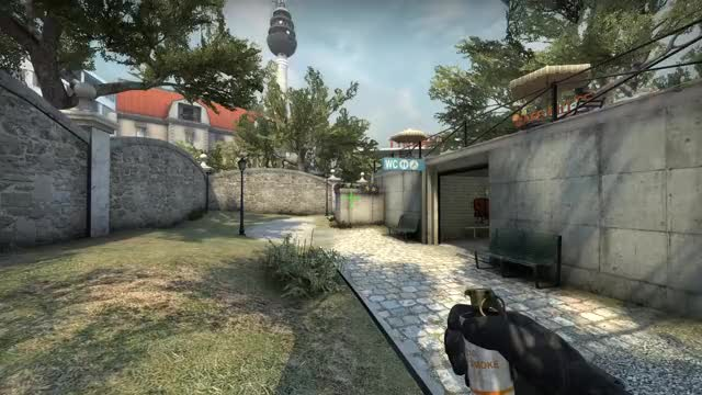 Watch and share Smoke Bank From Long Boost On Overpass GIFs by Cadred.org on Gfycat