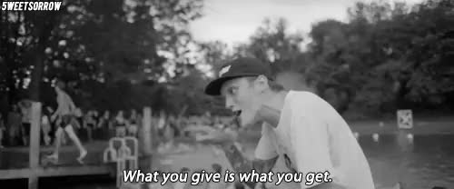 Watch and share Neck Deep Lyrics GIFs and Black And White GIFs on Gfycat