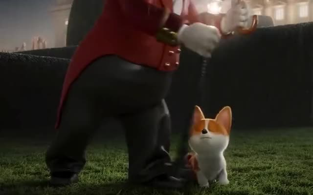 Watch this corgi GIF by GIF Machine (@gifmachine) on Gfycat. Discover more animation, british, corgi, cute, dog, dogs, elizabeth, epic, funny, haha, hilarious, leg, lol, mistake, oops, pee, pet, puppy, queen, queen's GIFs on Gfycat