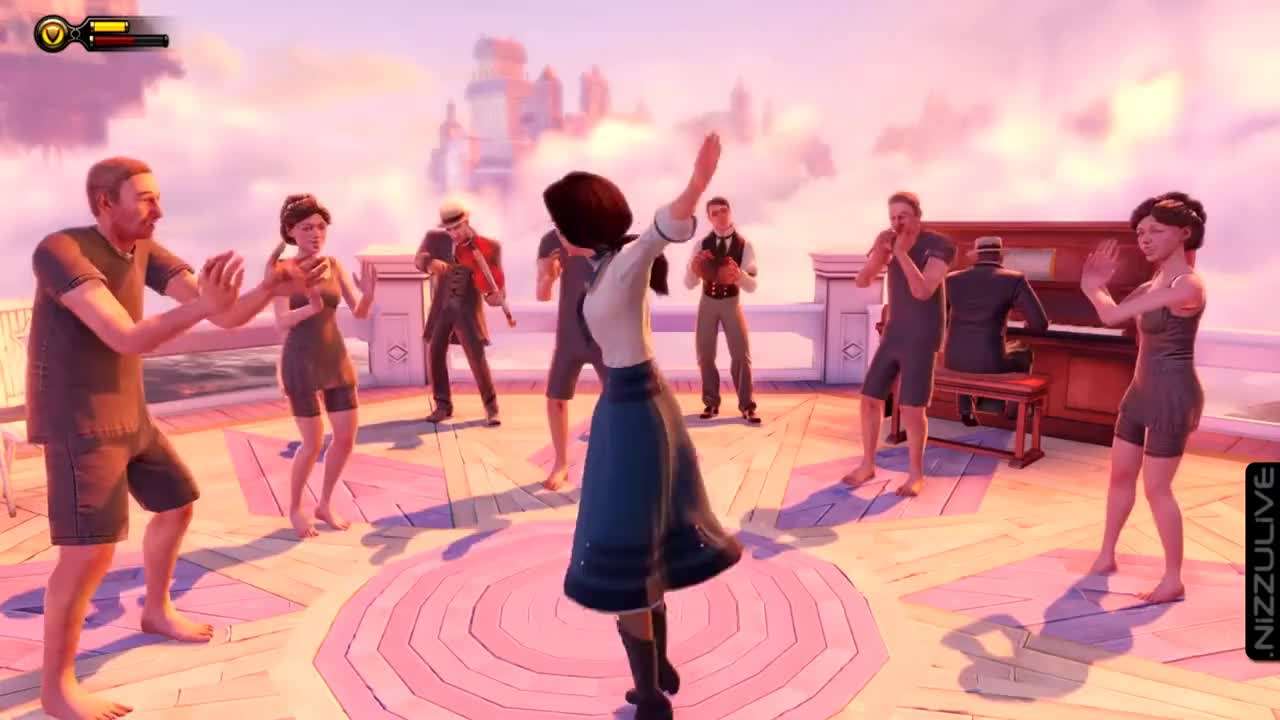 BioShock Infinite Elizabeth Dancing GIFs