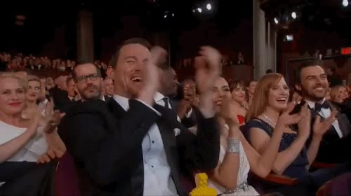 Watch this applause GIF by sypher0115 on Gfycat. Discover more applause, channing tatum, clap, clapping, jenna dewan, respect, slow clap GIFs on Gfycat