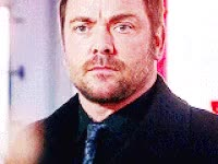 Watch and share Supernatural, Crowley GIFs on Gfycat